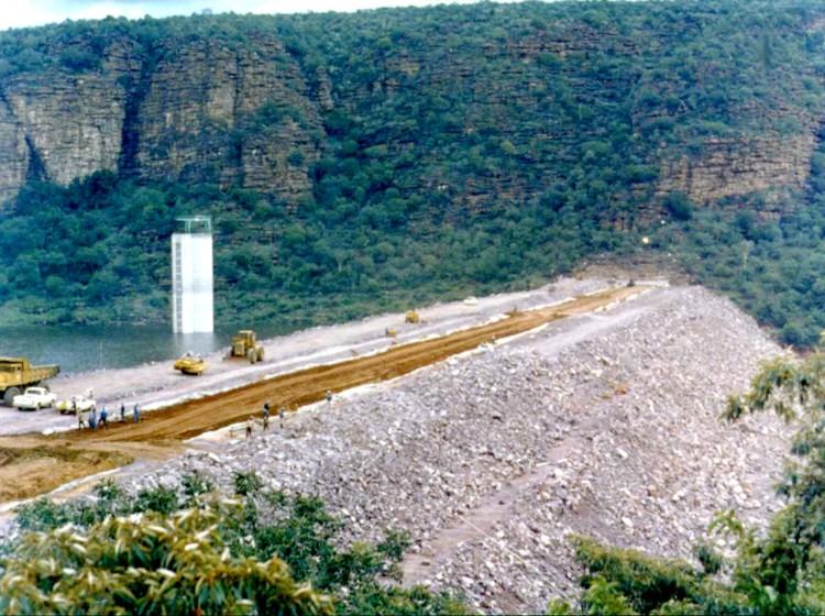 Mokolo Rockfill Dam 1979